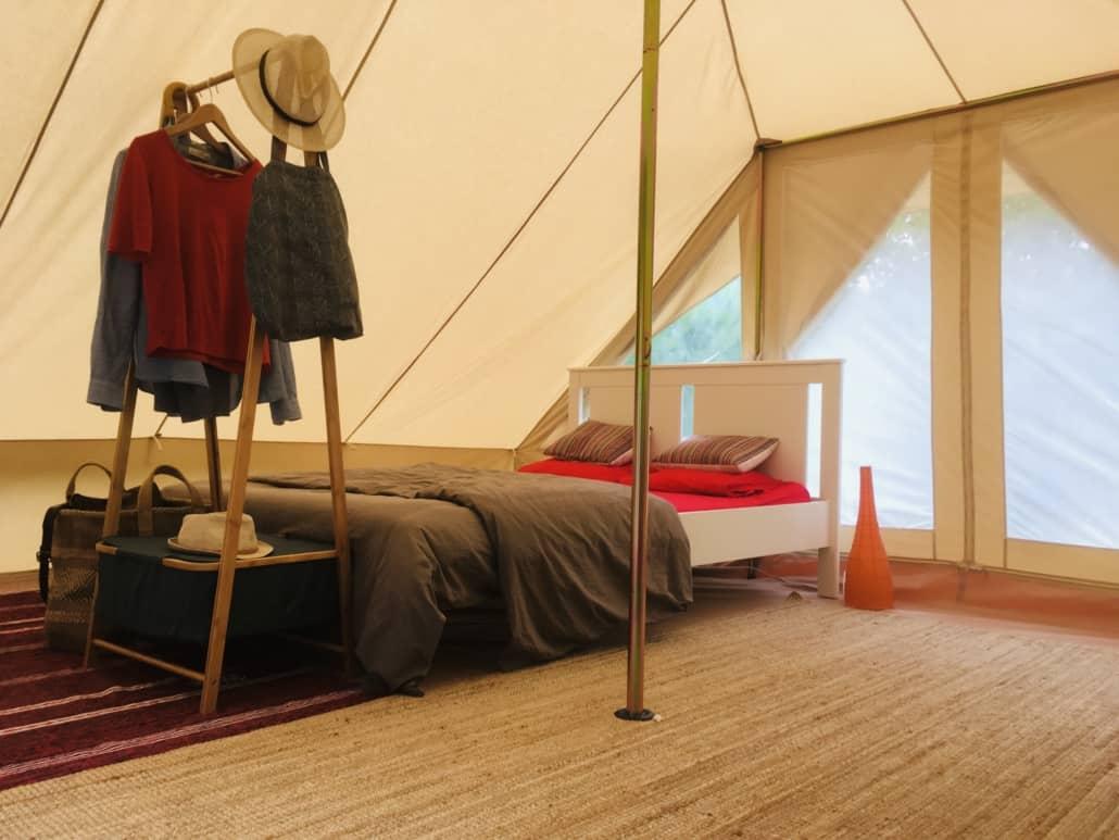 Chambre tente berbère - Jardins de l'Hermite (30)