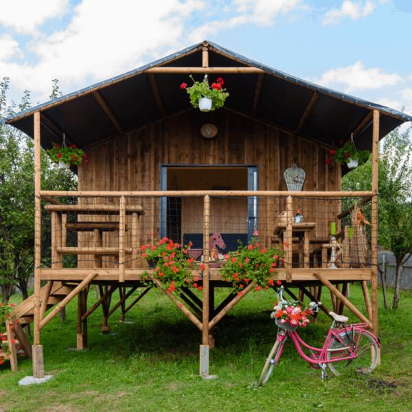 Cabane sur pilotis - Magnières (Grand Est)