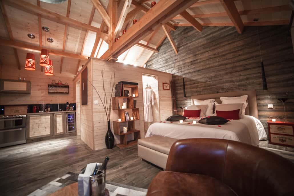 Intérieur Cabane Vigne Lodge D'Emilion de Sens