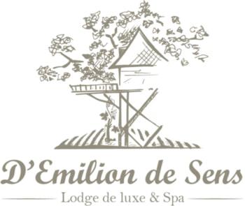 Logo D'Emilion de Sens Lodge de luxe & Spa